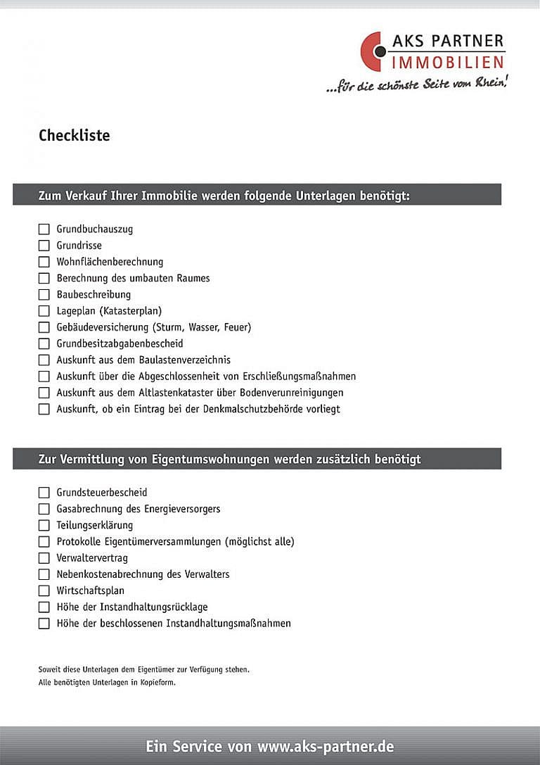 Checkliste Cover